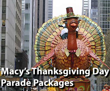 Macy's Thanksgiving Day Parade Packages